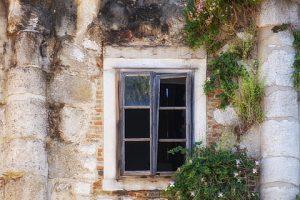 Casas elegante ventanas